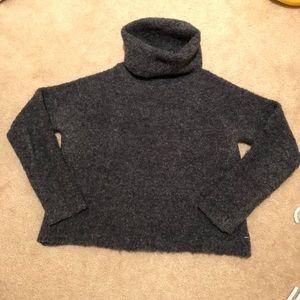 Madewell turtleneck sweater in grey - XS